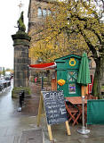 Police Box at Lauriston Place, now selling crepes and smooothies