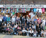 Clan Parade from Holyrood Park to Edinburgh Castle Esplanade  -  July 25, 2009