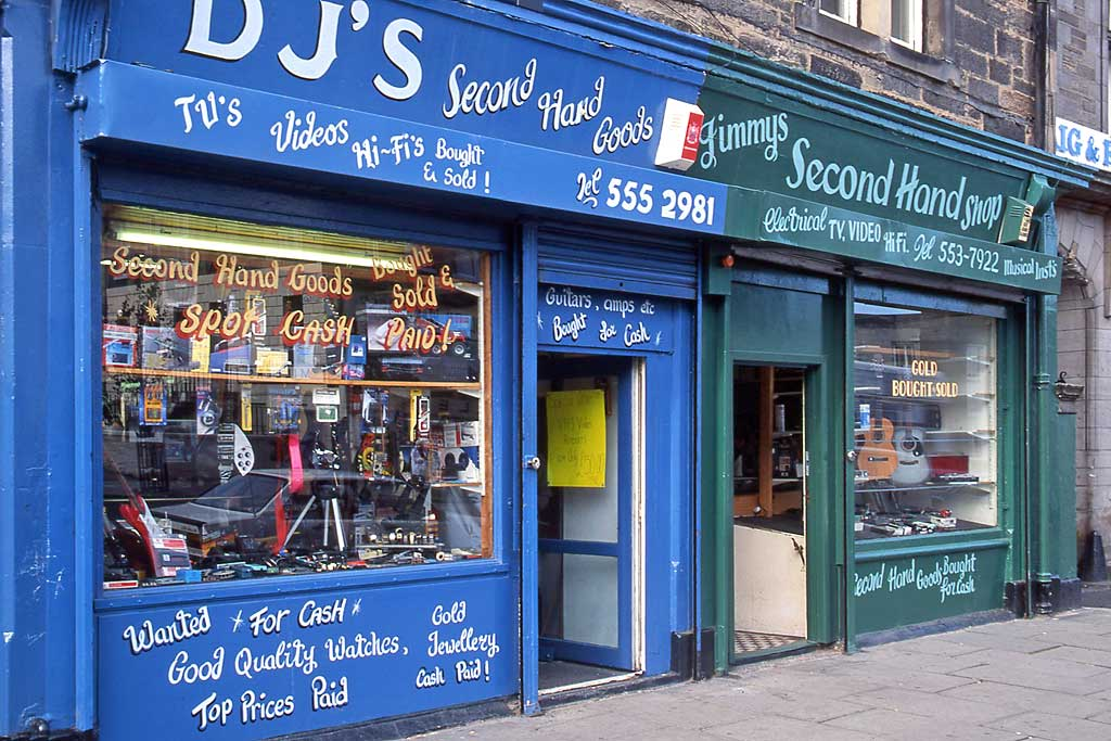 Edinburgh Shops  -  176+174 Leith Walk  -  1993
