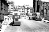 Lothian Road approaching the West End of Princes Street  -  1959