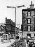 Lamp Post in Lothian Road, outside the Usher Hall  -  late-1950s