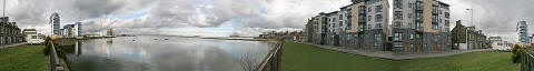 'Three hundred and sixty degree view' from Lower Granton Road
