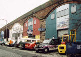Manderston Street and the Arches of the Caledonian Railway