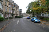 Mardale Crescent, Looking towards Holy Corner, Morningside, Edinburghd  -   Photo taken October 15, 2010