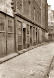 Market Street, Leith - Looking from St Andrew Street towards  Tolbooth Wynd - 1950s
