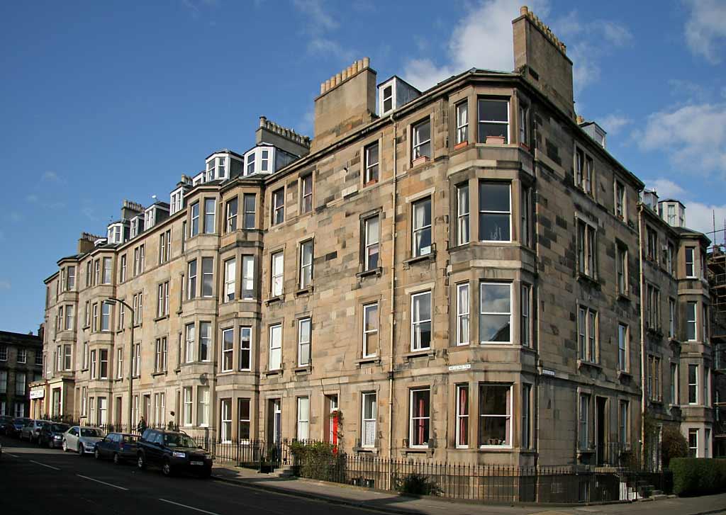 Megland terrace and bellevue street broughton edinburgh for Terrace 6 indore address