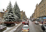 Morningside Road  -  Snow  -  Christmas Eve, 2009