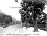 Newhaven Road  -  Proposed Road Widening, 1909