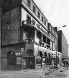 Uptown Disco after the fire, 1982, at 36-42 Nicolson Street, Southside, Edinburgh -