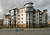 New Housing at Ocean Way  -  close to the Constitution Street entrance to Leith Docks  -  September 2007