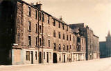 Photographs of Dumbiedykes around 1961-63  -   Pleasance  -  Young Brothers, bakers