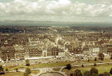 Looking over Princes Street and across to the Firth of Forth, from Edinburgh Castle  -  Autumn 1963
