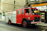 Rodney Street   -  Dodge Fire Engine, 1990