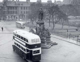 St Andrew Square and the Gladstone Monument  -  1953