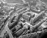 Aerial View of St James Square  -   looking to the SW