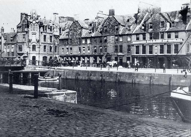The Shore, Leith  -  An early view