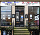 24 St Stephen Street, Stockbridge  -  The Property Shop + The 'Proper Tea' Shop