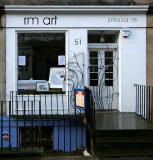 RM Art Shop at 51 St Stephen Street, Stockbridge