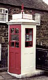 An example of a K1 Mk 234 telephone kiosk  -  photo from the Colne Valley Postal History Museum web site