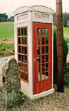 An example of a k3 telephone kiosk  -  photo from the Colne Valley Postal History Museum web site