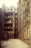 Tweeddale Court, Edinburgh Old Town, 1980s