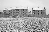 Houses in Wauchope Terrace, Craigmillar, shortly before deomlition - January 2008