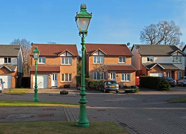 ceremonial lamp posts outside the home of edinburgh 39 s lord. Black Bedroom Furniture Sets. Home Design Ideas