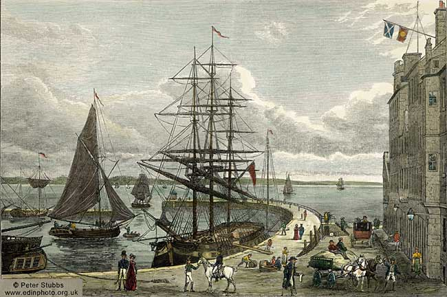 Leith Pier and Harbour